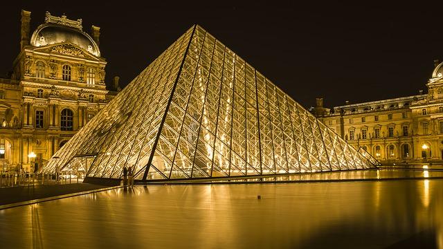 Louvre museum galerij