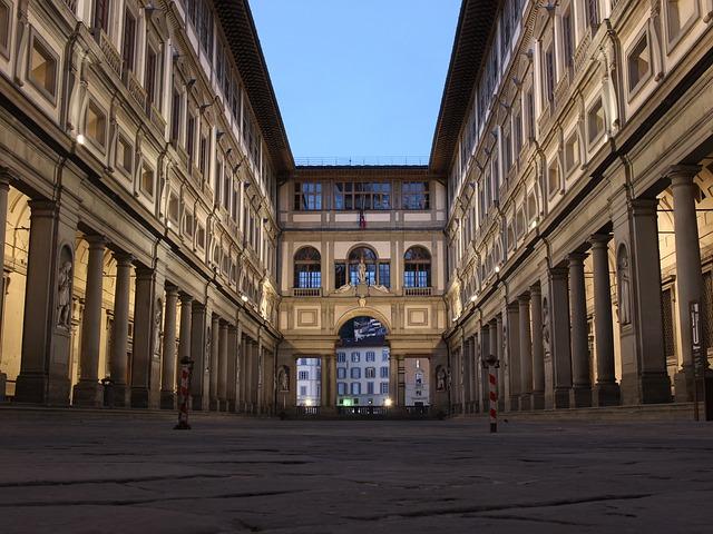 Uffizi galerij