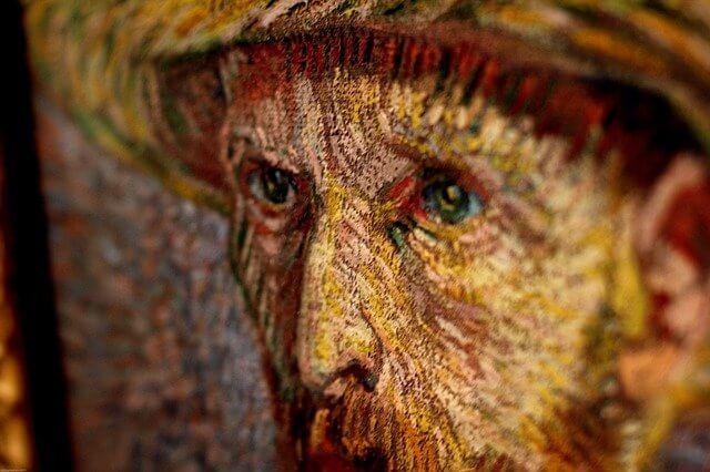 Van Gogh kleur painting